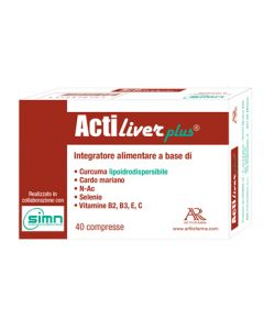 ACTILIVER PLUS 40 COMPRESSE