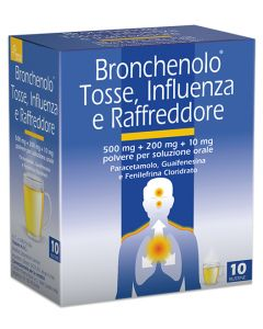 BRONCHENOLO TOSS INFL RAF 10BS